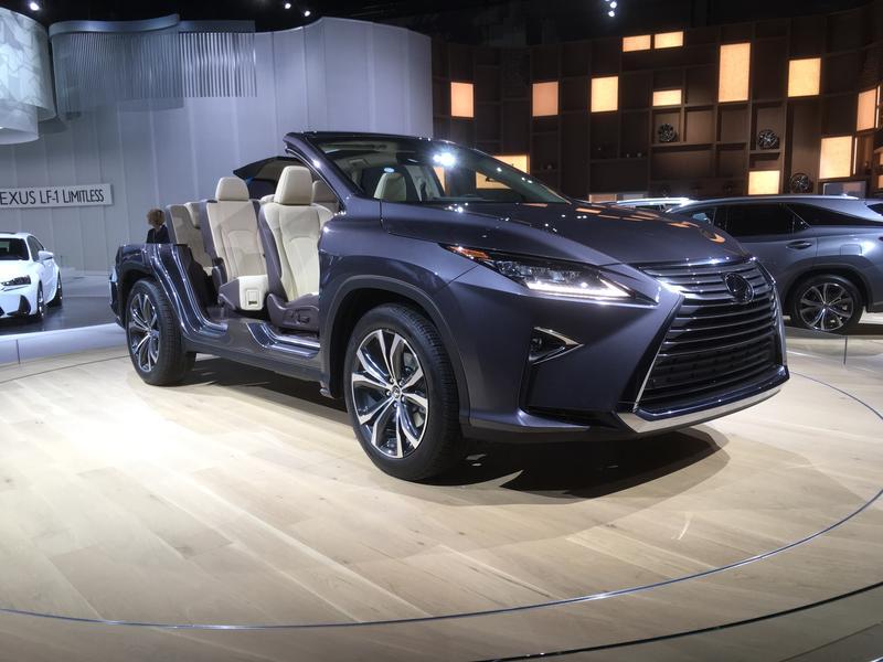 Lexus cutaway vehicle photo
