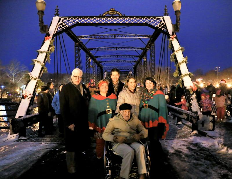 Bridge gathering in Portland