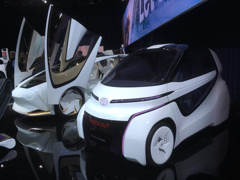 Toyota concept vehicle photo