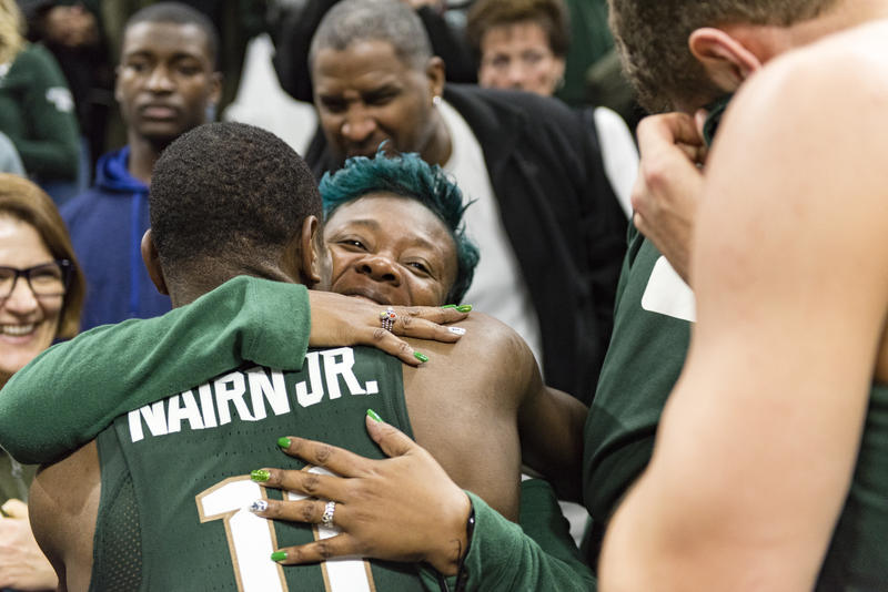 Tum Tum Nairn, Jr. and his mother