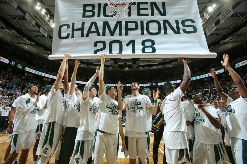 Big Ten Championship Banner Raising 2018
