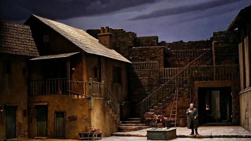 A scene from Verdi's Luisa Miller.