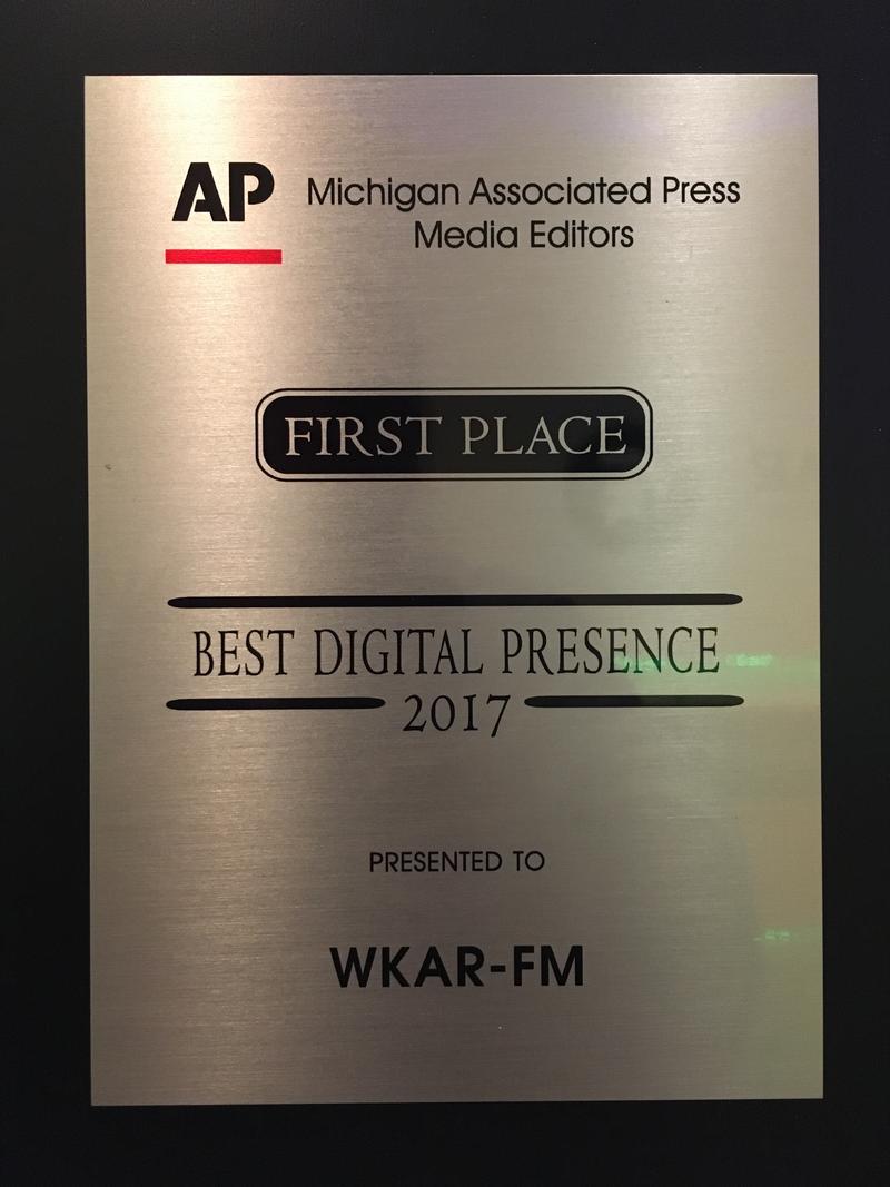 Best Digital Presence: WKAR-FM, East Lansing