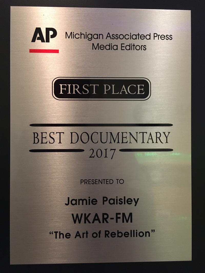 Best Documentary: Jamie Paisley,