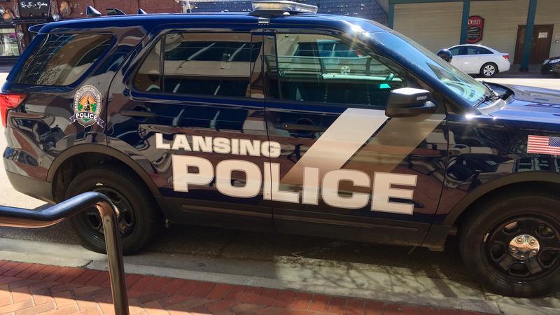Lansing police patrol unit