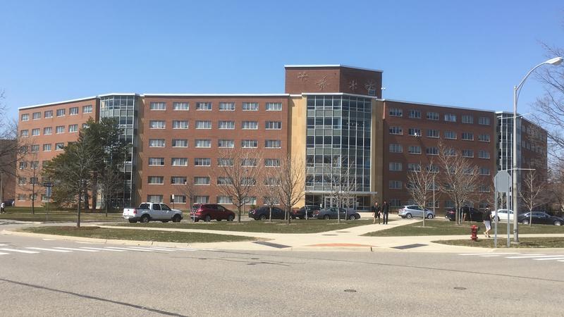 Wilson Hall MSU photo