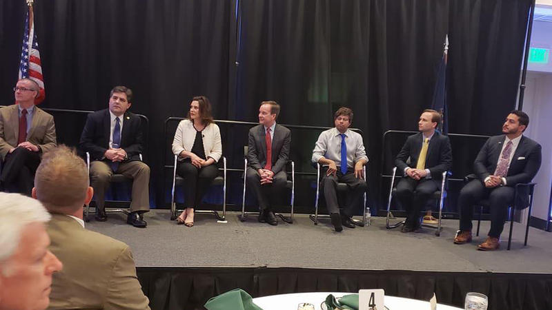 Gubernatorial Candidates during the Joint Forum