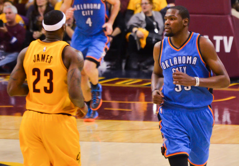 Kevin Durant LeBron James