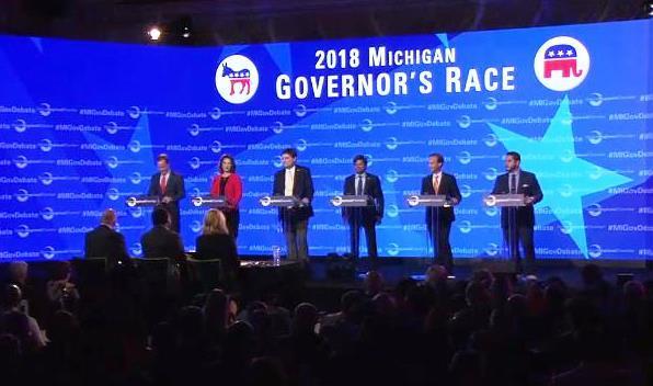 Governor's Race Debate on Mackinac Island on May 31, 2018.