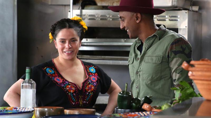 Marcus meets Chef Diana Davila at her restaurant Mi Tocaya.