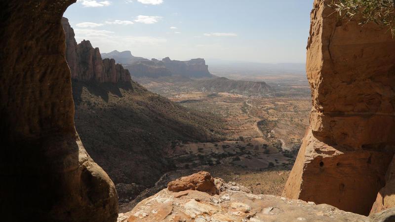 Landscape, Gheralta Massif, Tigray, Ethiopia.