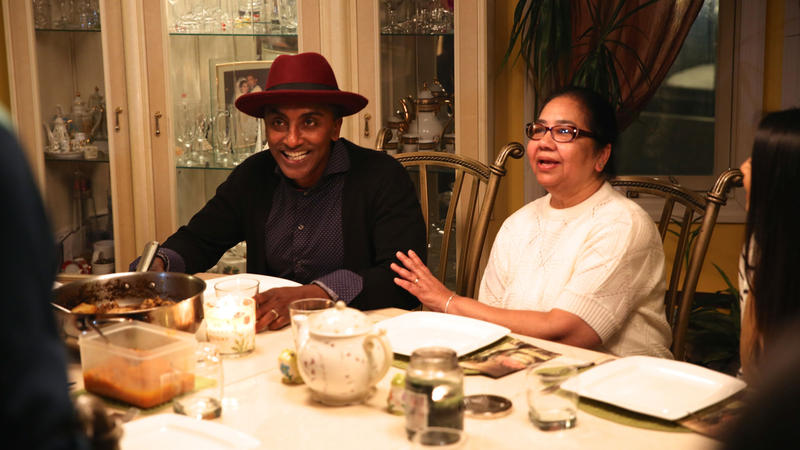 Marcus joins young DJ & music produucer Jonathan Madray - JonOne - at home with family to enjoy a traditional family dish.