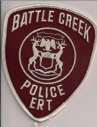 Battle Creek Police Badge