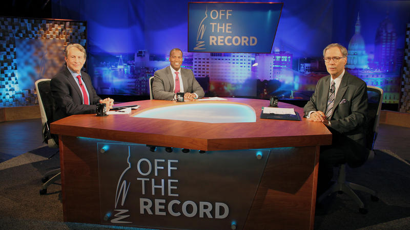 GOP U.S. Senate Candidates John James and Sandy Pensler appearing on Off the Record with Tim Skubick.