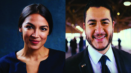 Alexandria Ocasio-Cortez and Abdul El-Sayed