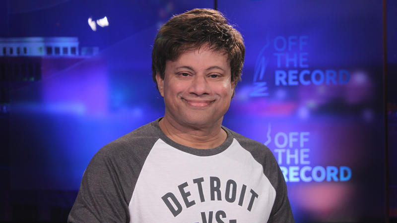 Shri Thanedar appearing on Off the Record with Tim Skubick.