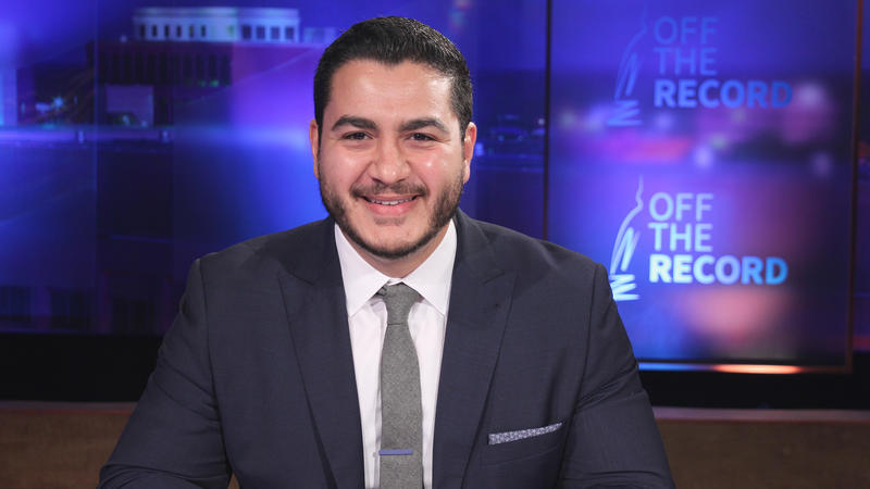 Dr. Abdul El-Sayed, appearing on Off the Record with Tim Skubick.