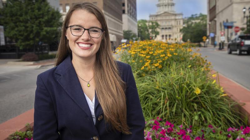 WKAR Morning Edition Host Emily Fox