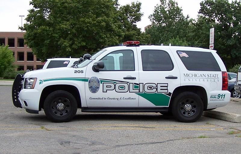 MSU police car