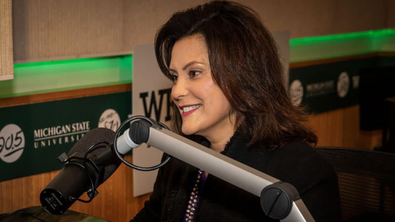 Michigan Democratic Governor Gretchen Whitmer