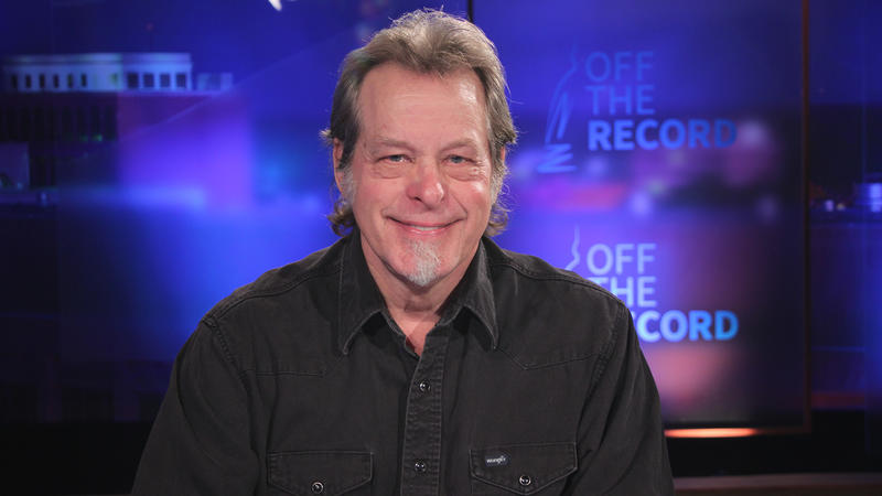 Rocker and activist Ted Nugent appearing on Off the Record with Tim Skubick.