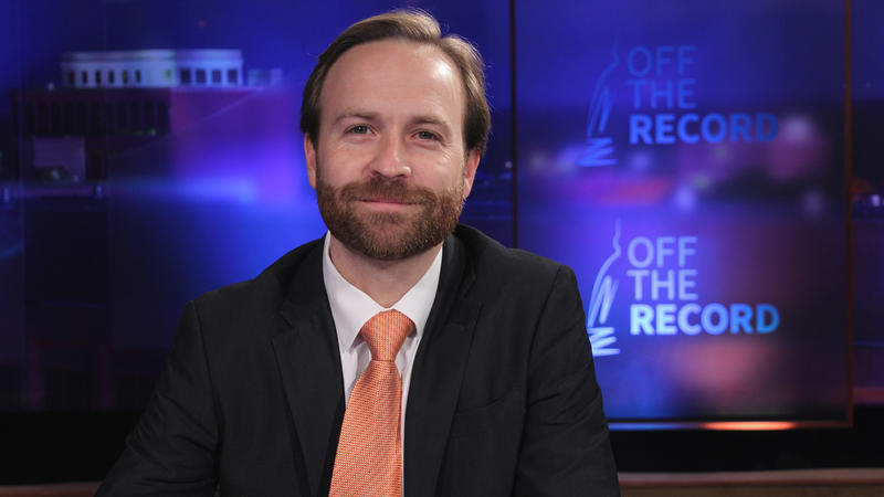 Lt. Governor Brian Calley appearing on Off the Record with Tim Skubick.