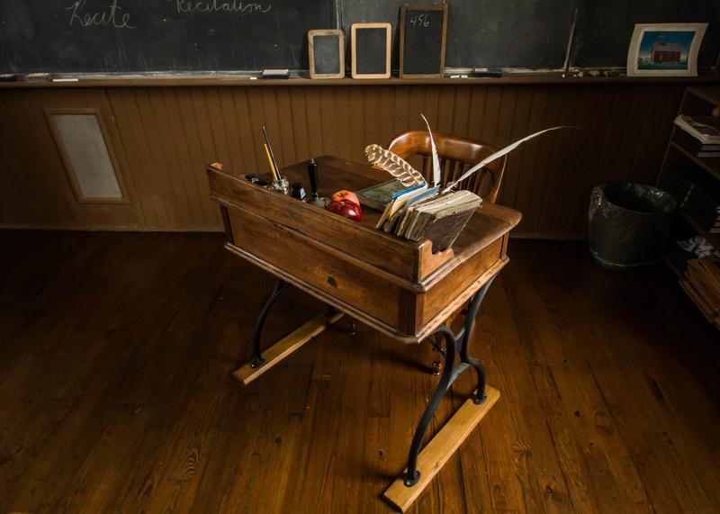 desk in class