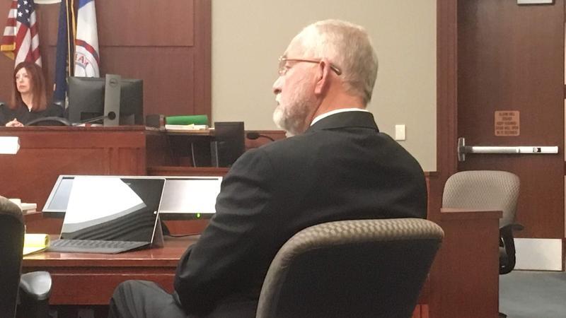 William Strampel courtroom photo