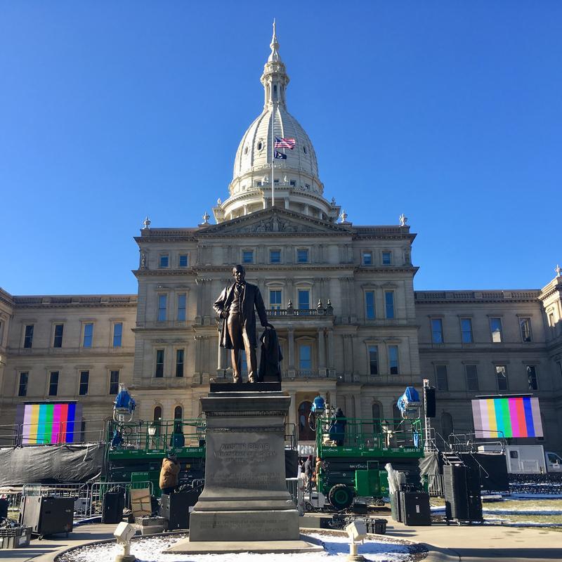 Capitol, inauguration