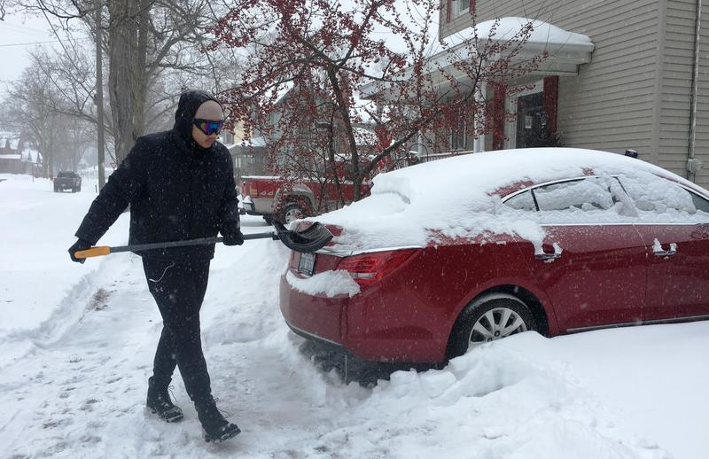Grand Ledge, snow, winter