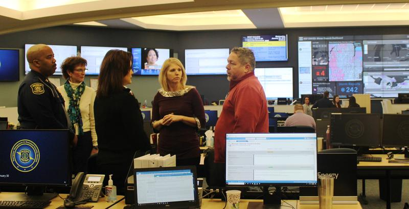 Gretchen Whitmer, Emergency Operations Center