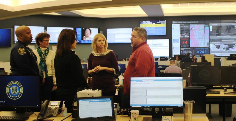 Gretchen Whitmer, Emergency Operations Center