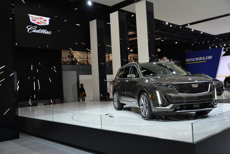 The all-new Cadillac XT6 was featured as the showcase car for the company.