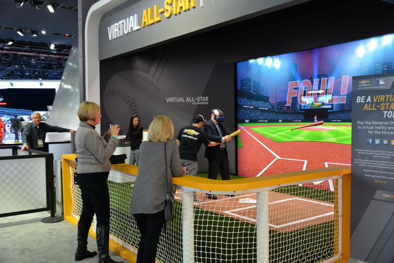 "Chevrolet has a ""virtual all-star"" attraction for attendees"