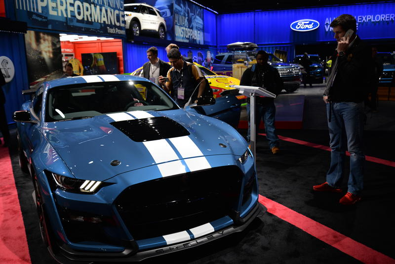 The newest model of the Ford Shelby GT500