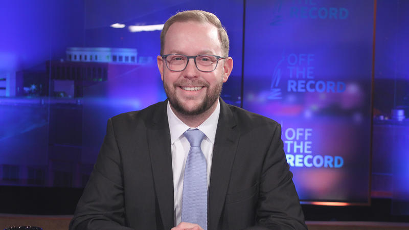 David Knezek appearing on Off the Record with Tim Skubick.