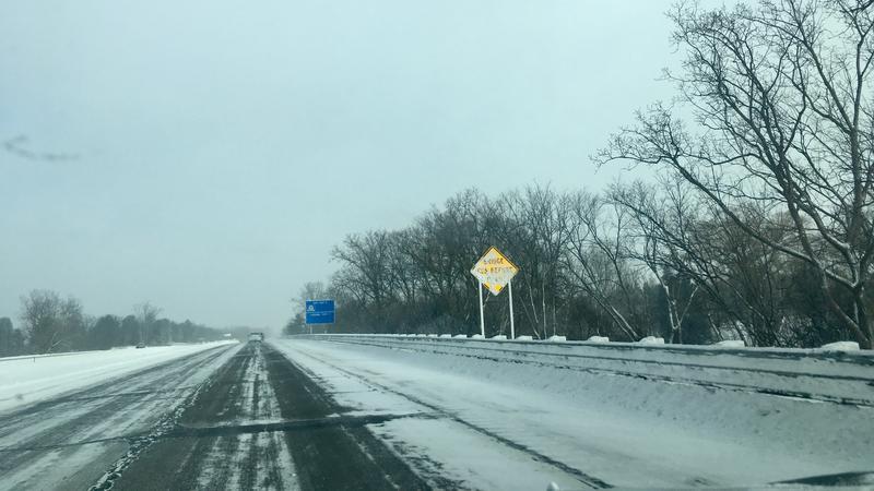 snow, Lansing, I-96