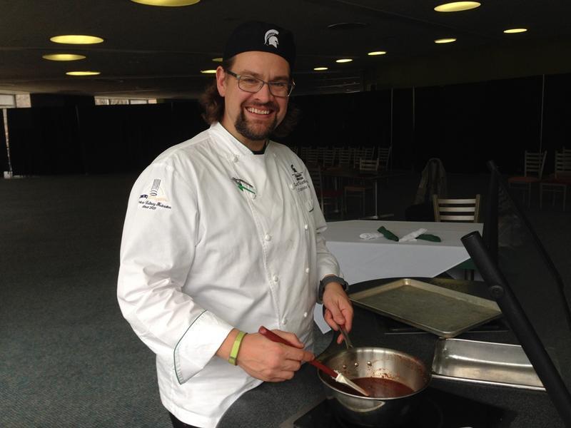 MSU corporate chef Kurt Kwiatkowski
