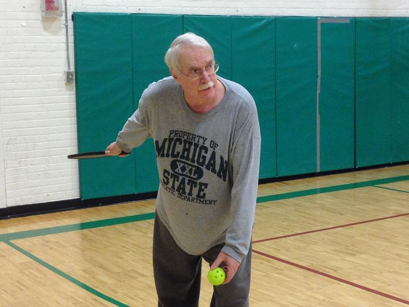 The serve in pickleball must be underhand.