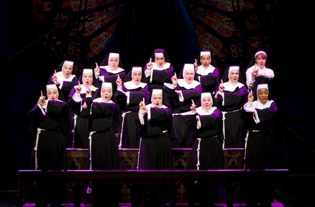 """Sister Act"" will be at the Wharton Center February 12-17, 2013"