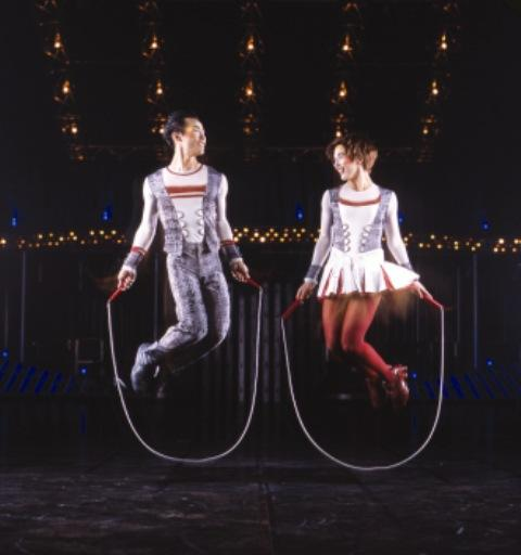 "Adrienn Banhegyi (right) is a solo jump rope skipper in the upcoming Cirque du Soleil production, ""Quidam.""  The show begins May 23 at the Breslin Student Events Center at Michigan State University."