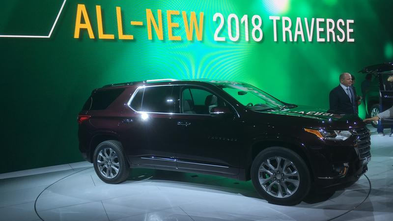 Chevy Traverse photo