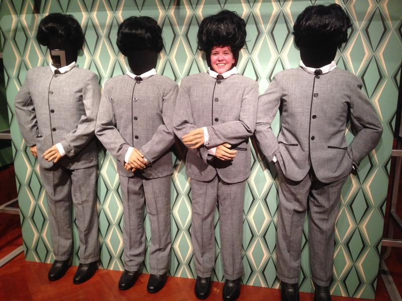 Beatles suit cutout
