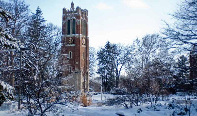 Beaumont Tower winter photo