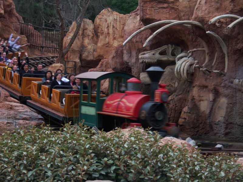 Big Thunder Mountain Railroad photo
