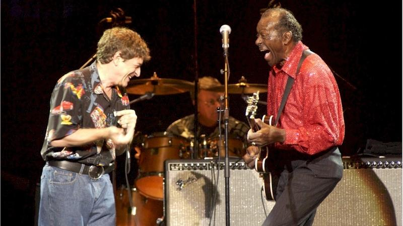 Bob Baldori and Chuck Berry
