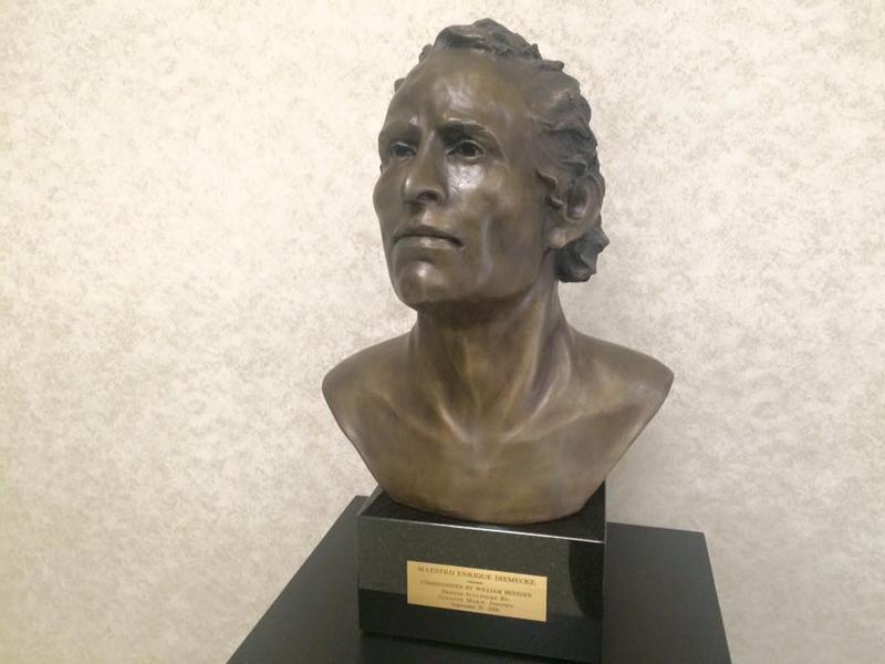 Enrique Diemecke bust at FSO