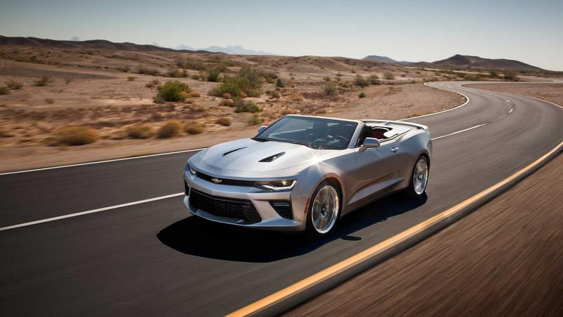 Camaro convertible photo