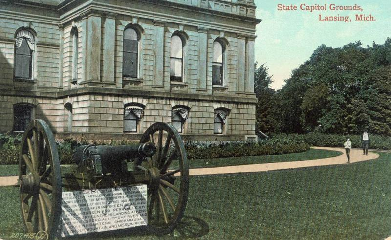 Cannon at State Capitol photo