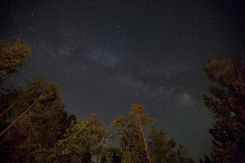 Headlands Dark Sky Park night sky photo